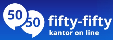 Kantor online – fifty-fifty.pl